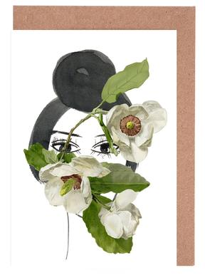 Look through the Flowers 1 Greeting Card Set