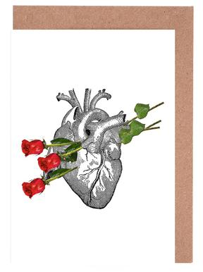 Roses Are Good Greeting Card Set