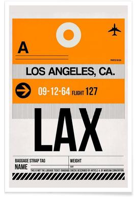 LAX-Los Angeles Poster