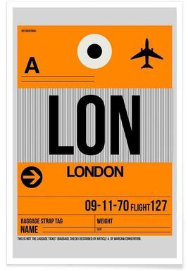 LON-London Poster