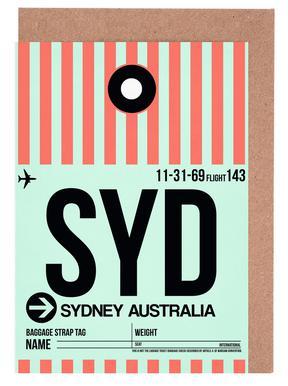 SYD-Sydney -Grußkarten-Set