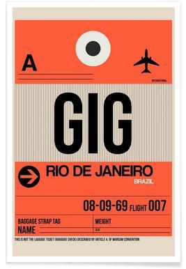 GIG-Rio de Janeiro poster