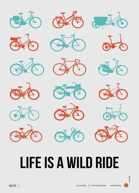 Life is a Wild Ride Poster 2