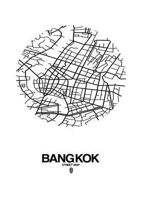 Bangkok canvas doek
