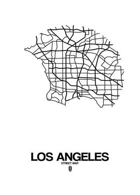 Los Angeles canvas doek