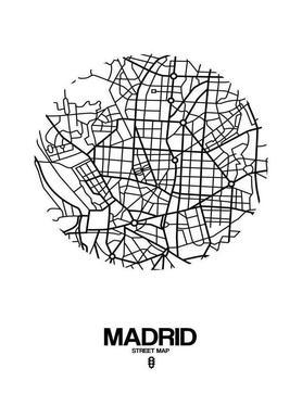 Madrid canvas doek