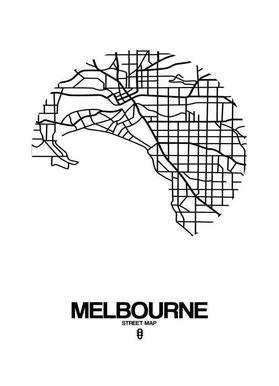 Melbourne canvas doek