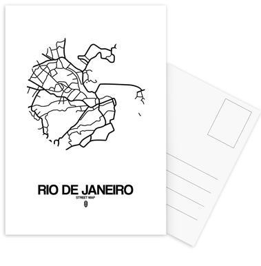 Rio de Janeiro Postcard Set