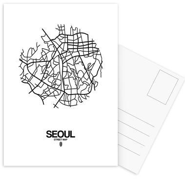 Seoul ansichtkaartenset