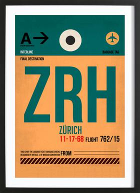 Zurich Framed Print