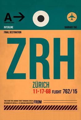 Zurich -Alubild