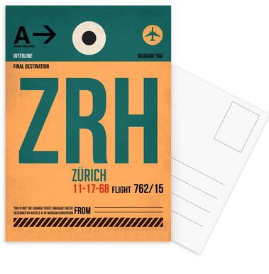 Zurich Postcard Set
