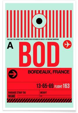 BOD - Bordeaux Poster