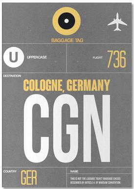 CGN - Cologne -Notizblock