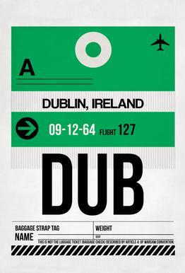 Dublin acrylglas print