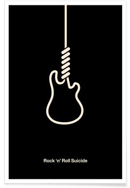 Rock 'n' Roll Suicide Poster