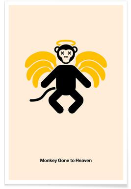 Monkey Gone to Heaven Poster