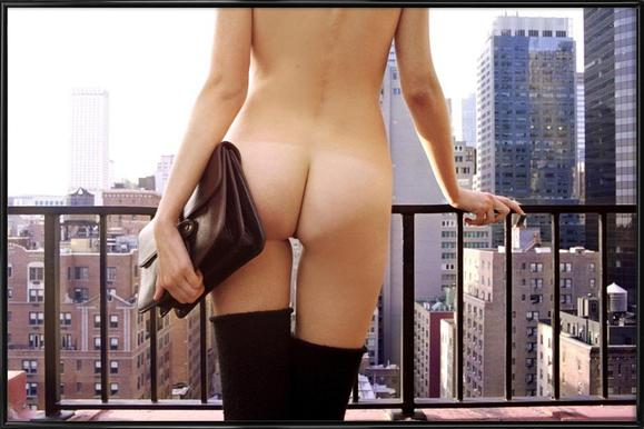 Naked in New York - Poster in Standard Frame