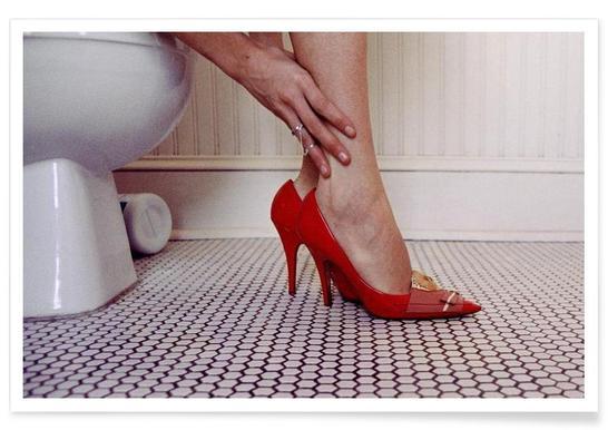 Louis Vuitton Red Shoe Blues