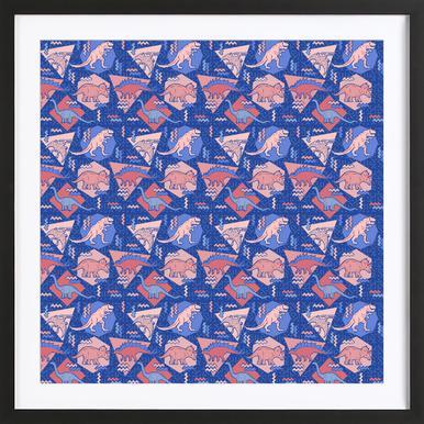 Dino Serenity Quartzrose Framed Print