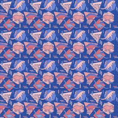 Dino Serenity Quartzrose Canvas Print