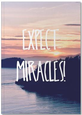 Expect Miracles carnet de notes