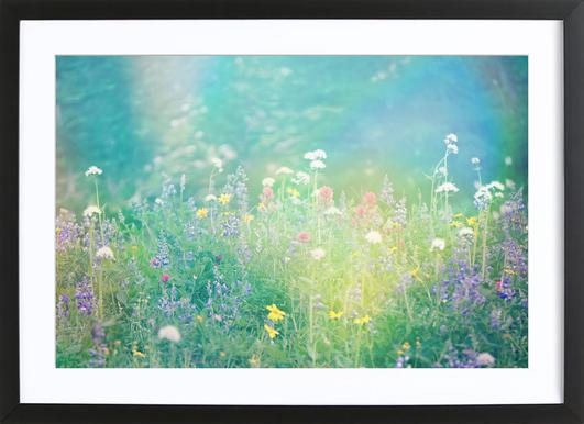 Mountain Wild Flowers 2 Framed Print