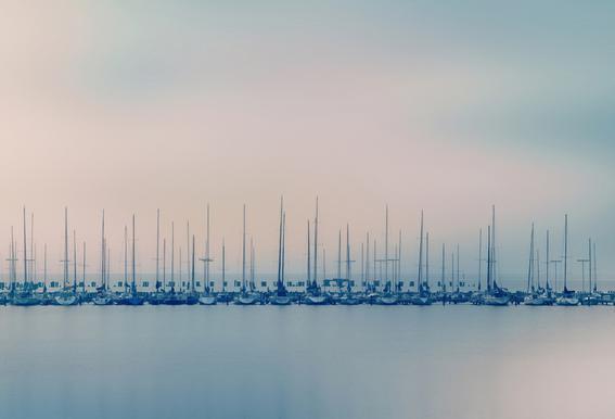 Sails Aluminium Print
