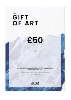 £50 Gift Voucher Gift Card