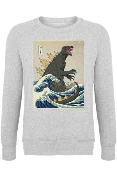 03e58f343e1 The Great Godzilla off Kanagawa as Poster by DinoMike