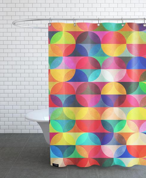 Halo As Shower Curtain By Tracie Andrews