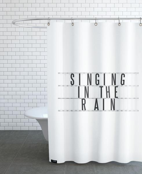 Cinema No10 As Shower Curtain By Typealive