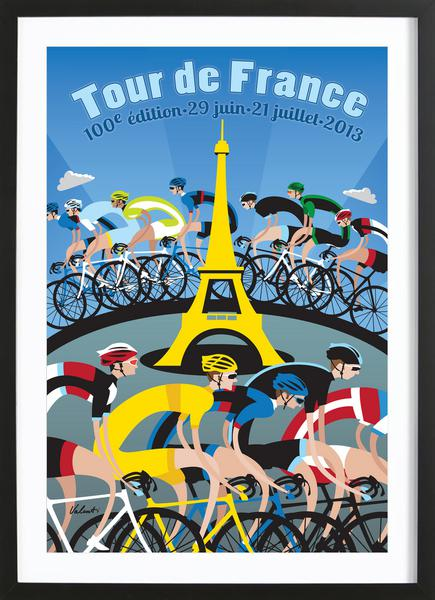 Bike Gift Cyclist Gift New Tour De France Cycling Coaster Set
