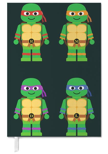 Ninja Turtles Slaapkamer.Teenage Mutant Ninja Turtles Wenskaartenset Juniqe