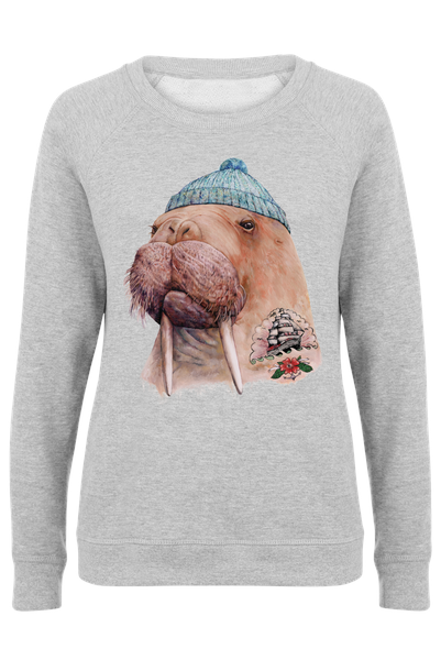 731992a58f9 Tatooed Walrus as Poster by Animal Crew