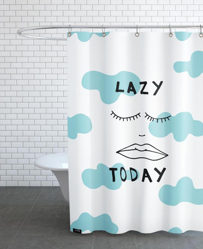 Lazy Today Clouds Shower Curtain