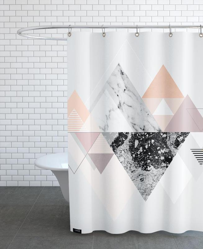 Graphic 110 as Shower Curtain by Mareike Böhmer | JUNIQE