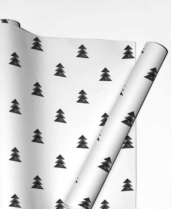 tannenbaum 1 als geschenkpapier von mareike b hmer juniqe. Black Bedroom Furniture Sets. Home Design Ideas