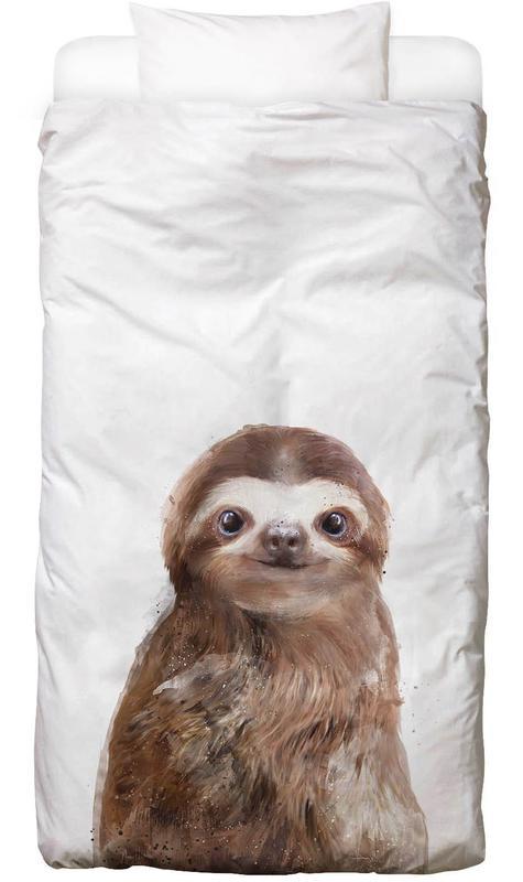 Little Sloth As Kids Bed Linen By Amy Hamilton Juniqe Uk