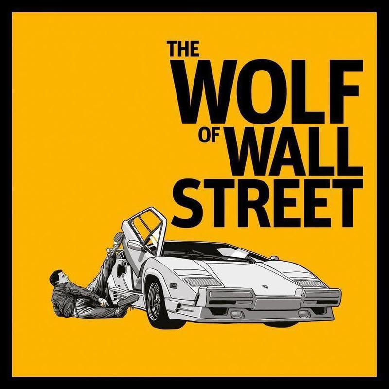 The Wolf of Wall Street as Canvas Print by Federico Mancosu | JUNIQE