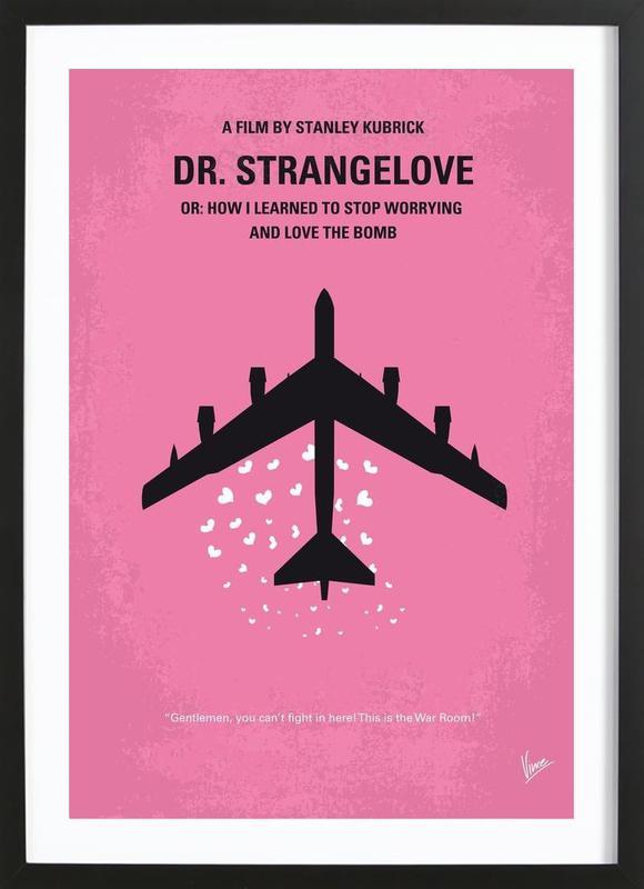dr strangelove als poster im holzrahmen von chungkong juniqe. Black Bedroom Furniture Sets. Home Design Ideas