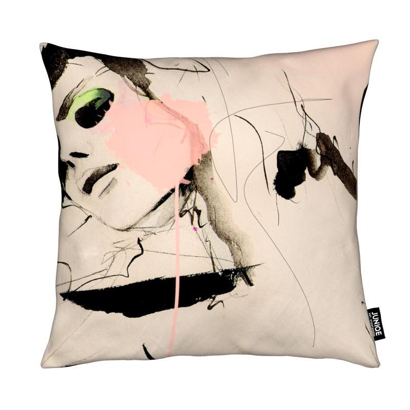 hence als kissen von leigh viner juniqe ch. Black Bedroom Furniture Sets. Home Design Ideas