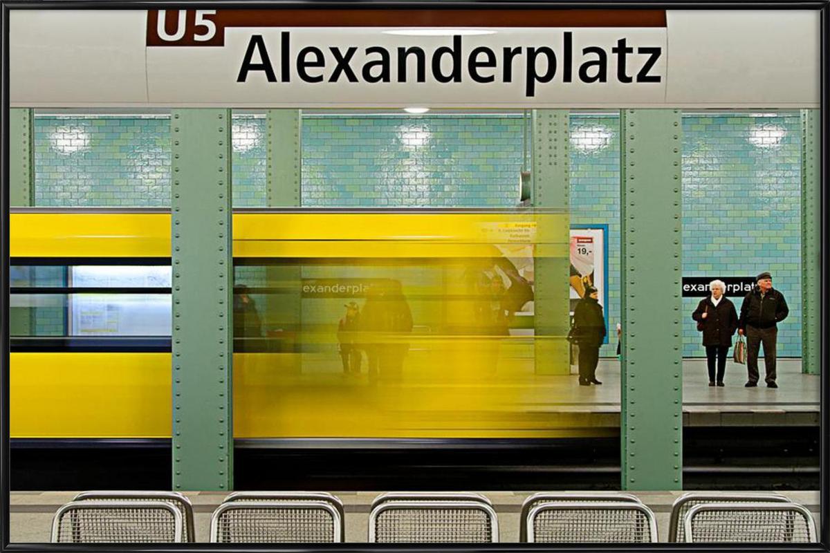 Leaving Alex as Poster in Standard Frame by Michael Belhadi | JUNIQE