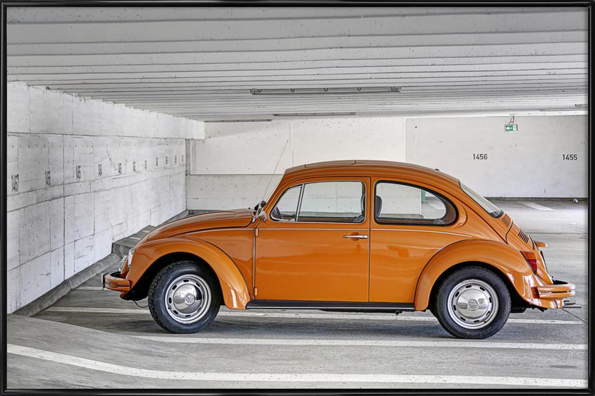beetle als poster im kunststoffrahmen von michael belhadi juniqe. Black Bedroom Furniture Sets. Home Design Ideas