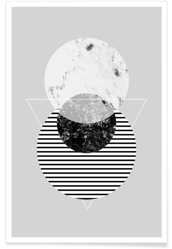 Minimalism 9 als premium poster von mareike b hmer juniqe for Minimal art kunstwerke