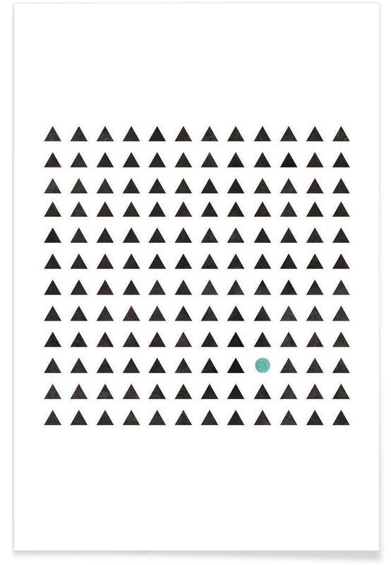 Minimalism 1 als premium poster von mareike b hmer juniqe for Minimal art kunstwerke
