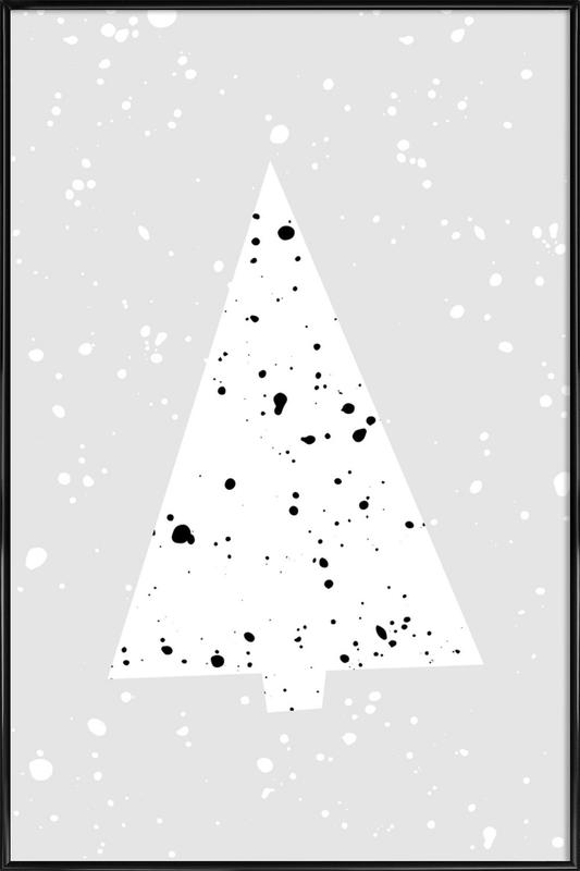 Christmas Tree 2 as Poster in Standard Frame | JUNIQE
