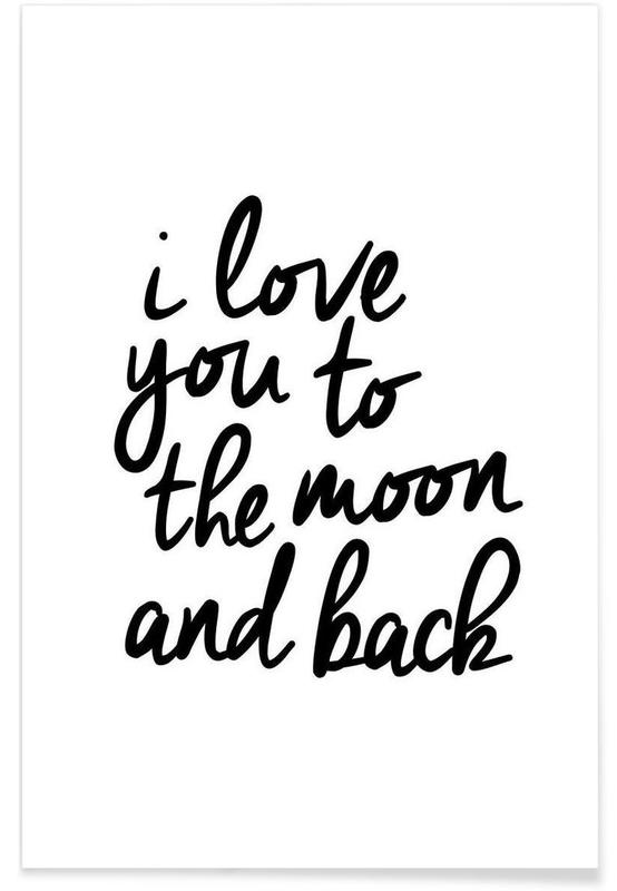 I Love You to the Moon and Back — Poster