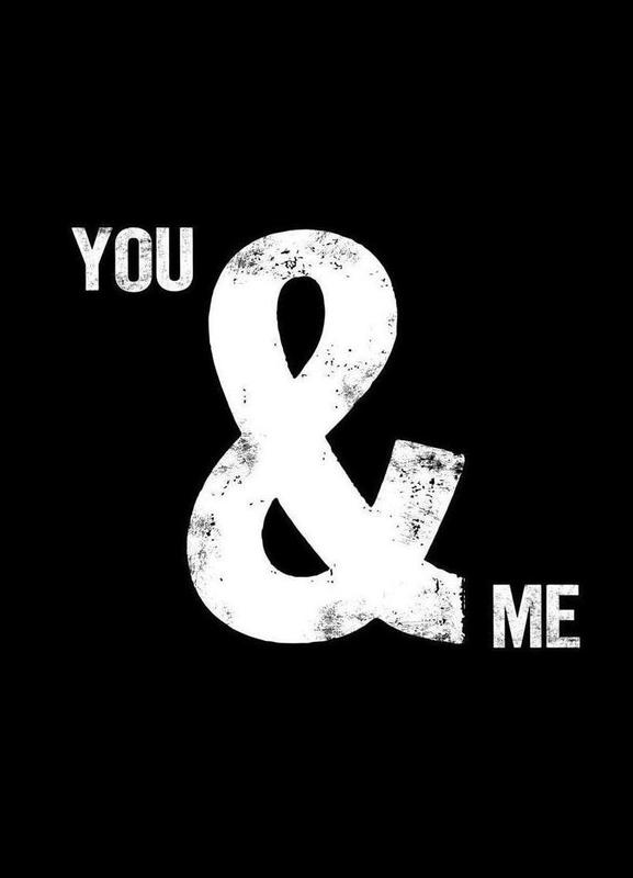 You and Me as Canvas Print by ...