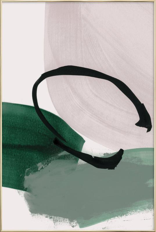 Minimalist Painting 01 as Poster in Aluminium Frame | JUNIQE UK